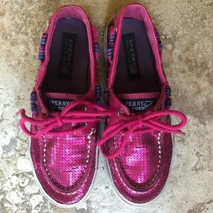 Sperry Top-Sider Bahama Hot Pink Boat Shoe